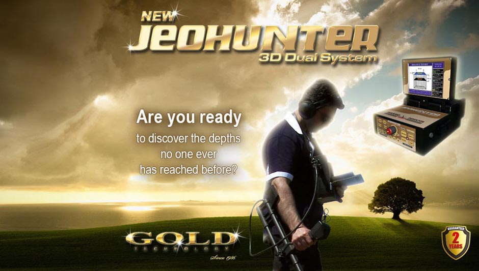 Are you ready to discover the dephts no one ever has reached before? - JeoHunter 3D Systeem