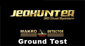 JeoHunter Dual systeem - grondtest
